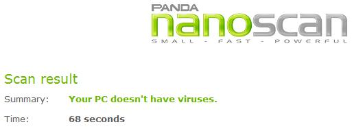 Panda NanoScan