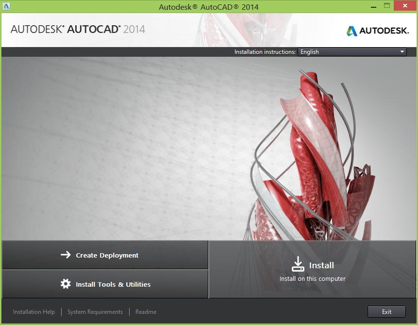 AutoCAD 2014 setup