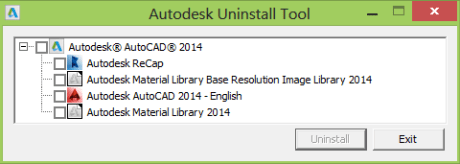 Autodesk Uninstall Tool