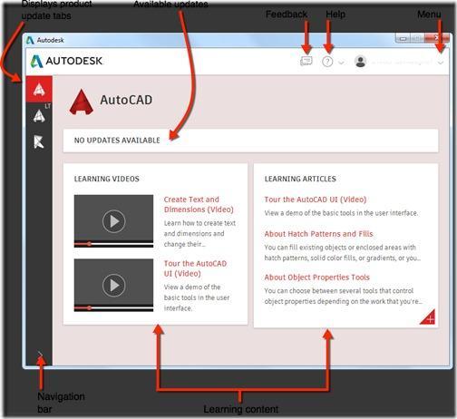 AutoCAD 2017 Autodesk desktop app