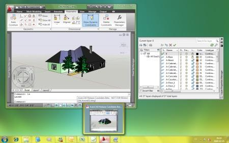 AutoCAD 2010 on Windows 7