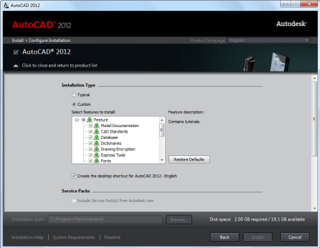 AutoCAD 2012 and 2011 - Computer and Cyber net Technology