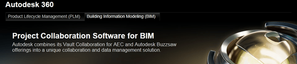 Autodesk 360 for BIM