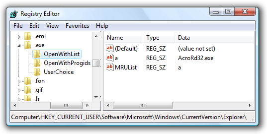 JTB World Blog: Have you lost your  EXE file extension