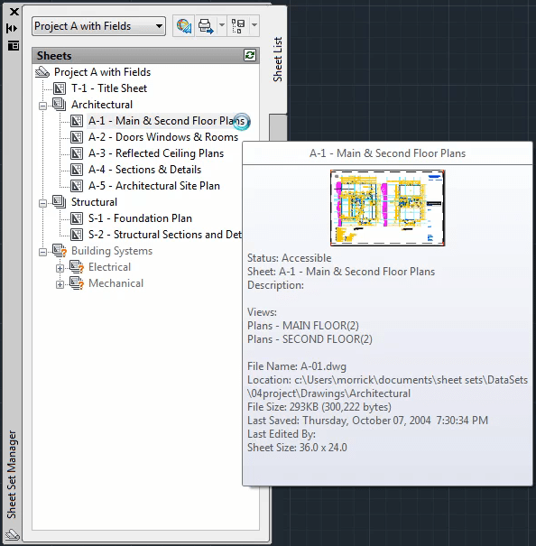 JTB World Blog: Sheet Set Manager for AutoCAD LT videos