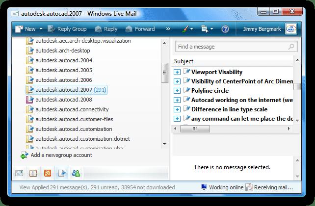 autodesk.autocad.2007 - Windows Live Mail