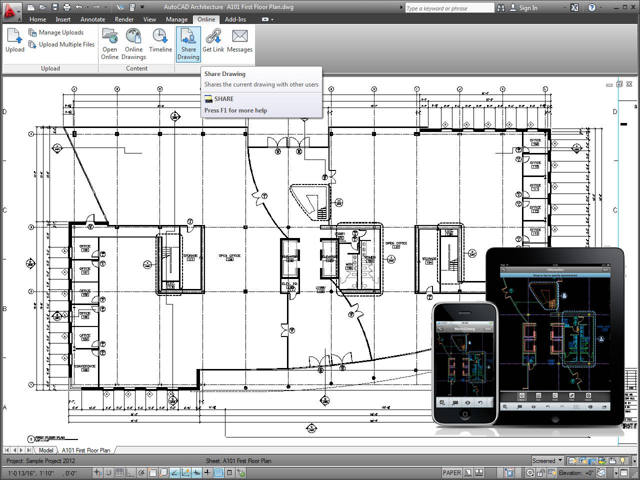 Autocad architecture 2012 jtb world Building drawing software