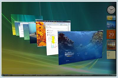 Windows Flip 3D