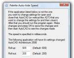 Palette Auto-hide Speed